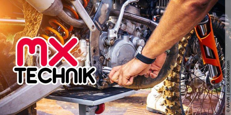 Motocross Technik und Wartung