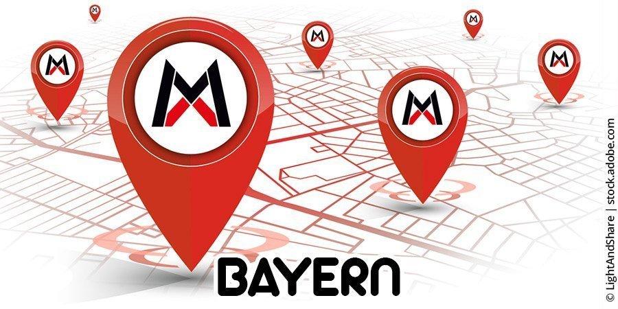 Motocross-Strecken in Bayern